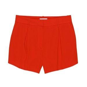ARITZIA BABATON Antoine Shorts Red Size 0